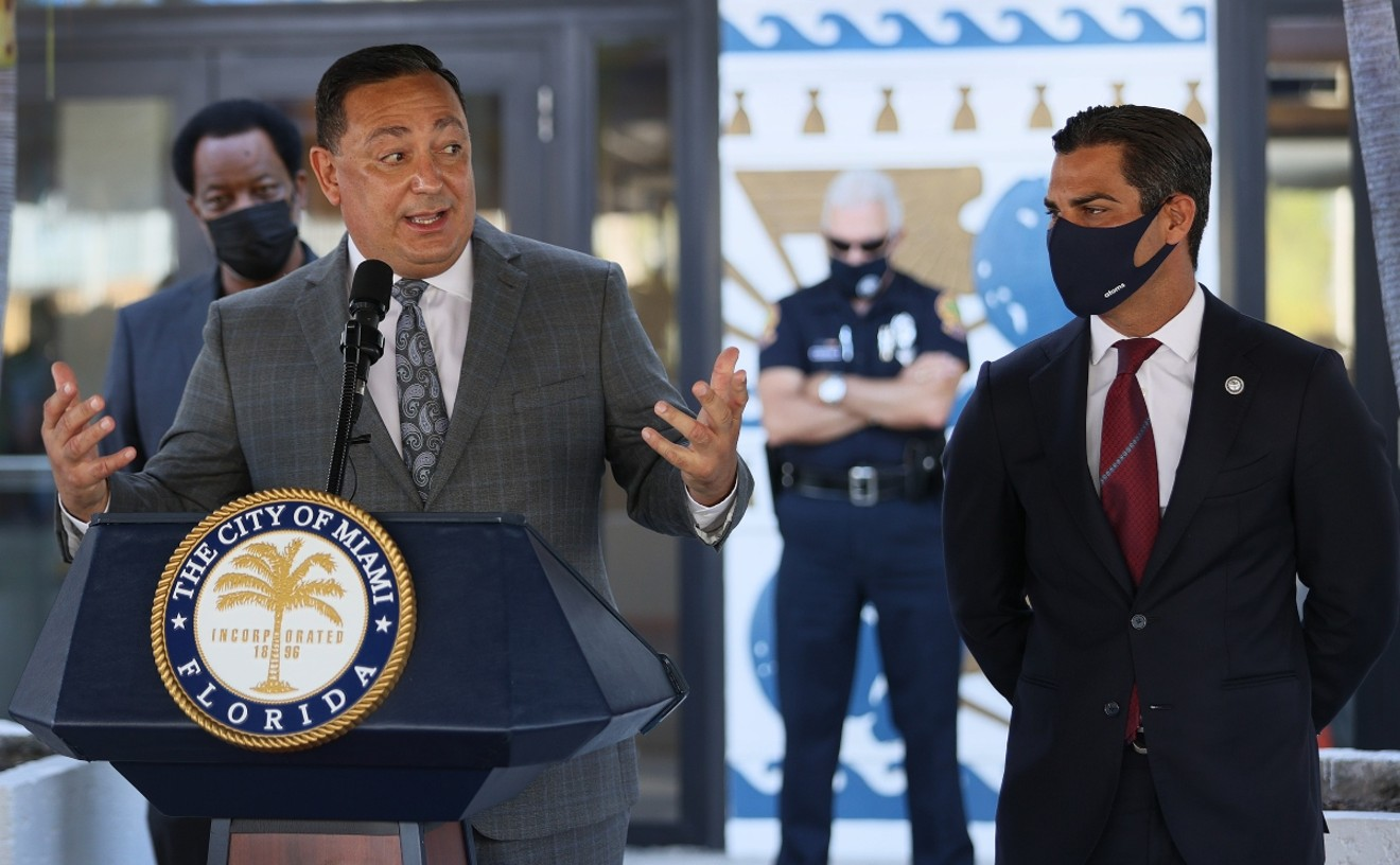 """Miami Police Chief Art Acevedo sent the department a """"farewell"""" email Monday evening."""