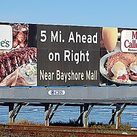 Ugly Billboards 17. Applebee's/Marie Callender's