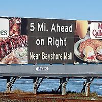 Ugly Billboards 17. Applebee's/Marie Callender's