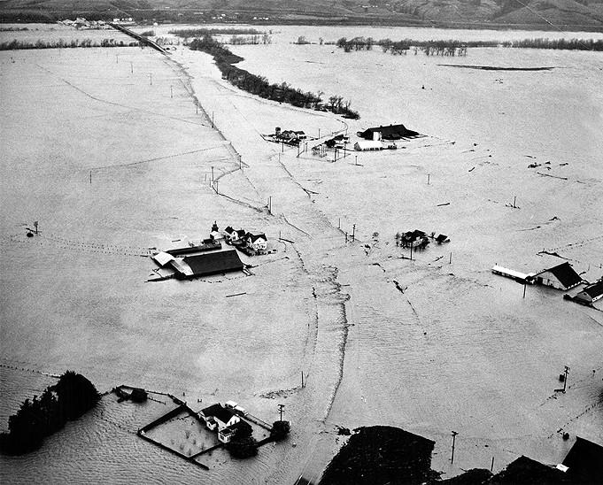 1964 Flood — Eel River, Pepperwood and Weott