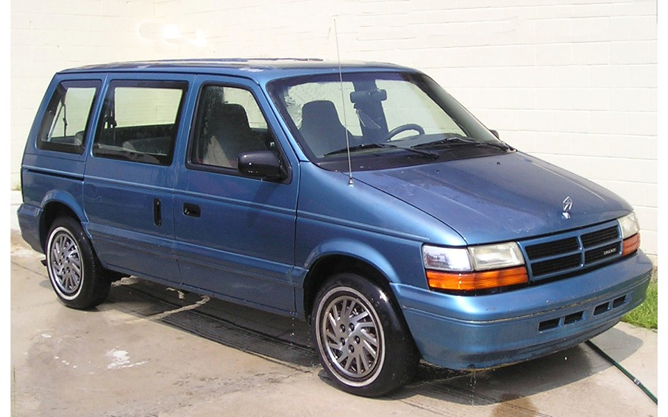 "1994 Dodge Caravan - (NOT ""THE GRANNY VAN"")"