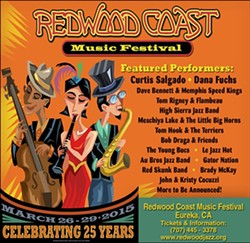 25th Annual Redwood Coast Music Festival