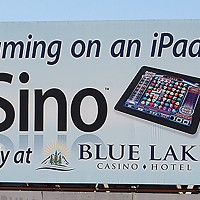Ugly Billboards 29. Blue Lake Casino iSino