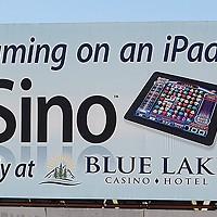Ugly Billboards 29. Blue Lake Casino iSino