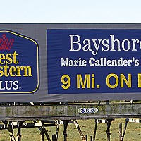 Ugly Billboards 3. Bayshore Inn