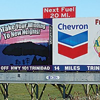 Ugly Billboards 31. Cher-ae Heights Casino/Chevron