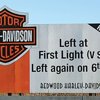 Ugly Billboards 5. Harley-Davidson