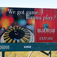 Ugly Billboards 8. Bear River Casino