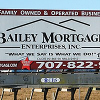 Ugly Billboards 9. Bailey Mortgage