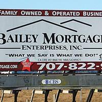 Ugly Billboards 9. Bailey Mortgage