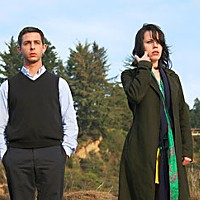 In The Green Room Actors Jeremy Strong and Fairuza Balk. Photo courtesy of Magnolia Pictures.