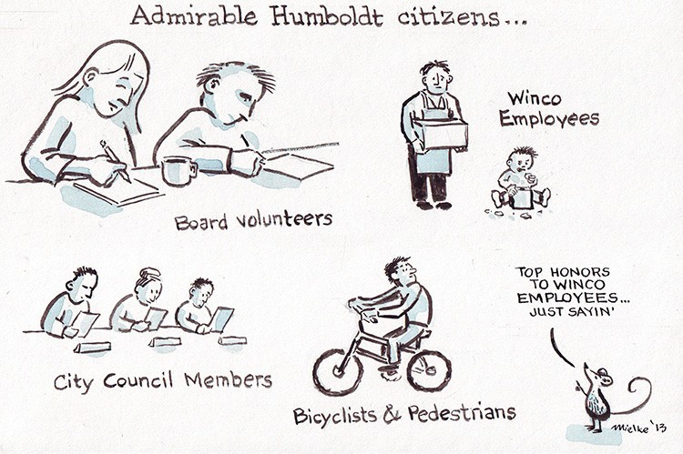 Admirable Citizens - JOEL MIELKE