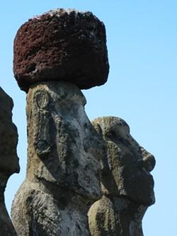 NAN NIEBOER - Approaching Easter Island