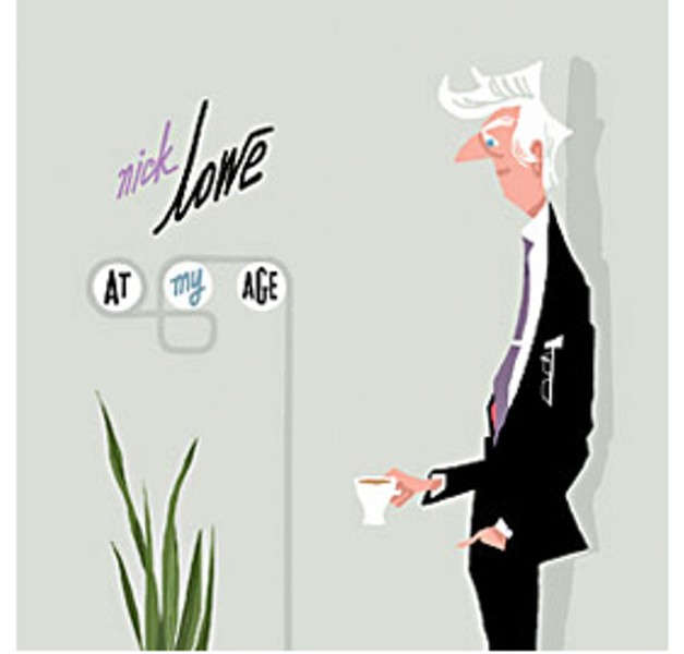'At My Age' by Nick Lowe, Yep Roc Records