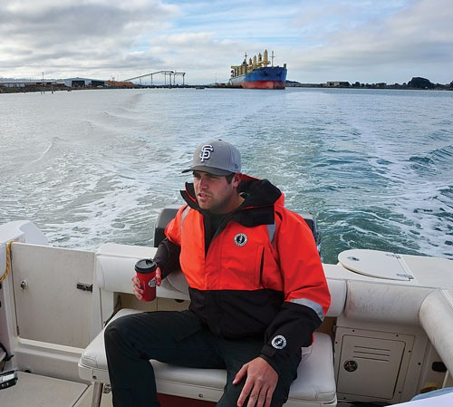 Cody Hills, who grew up on Humboldt Bay, is a tug boat operator, boat-repairer and local bay history afficionado. - PHOTO BY DREW HYLAND