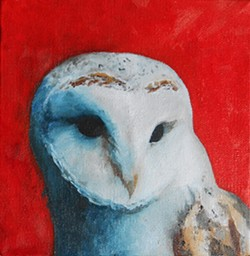 Be sure to catch Laura Chapman White's avian artwork at the Eel River Valley Multigenerational Center in Fortuna. Originally from Missouri, Chapman White — a Humboldt State University alumna — now works and lives in Arcata.