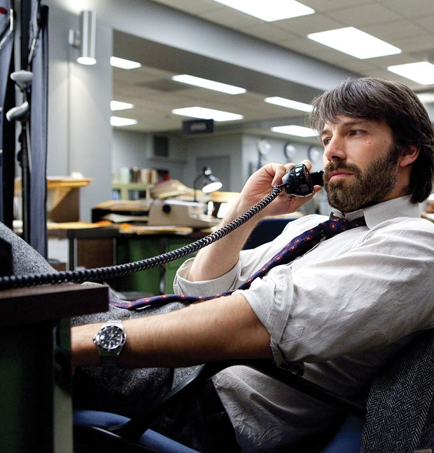 Ben Affleck rocks the hairy '70s look as CIA agent Tony Mendez in Argo.