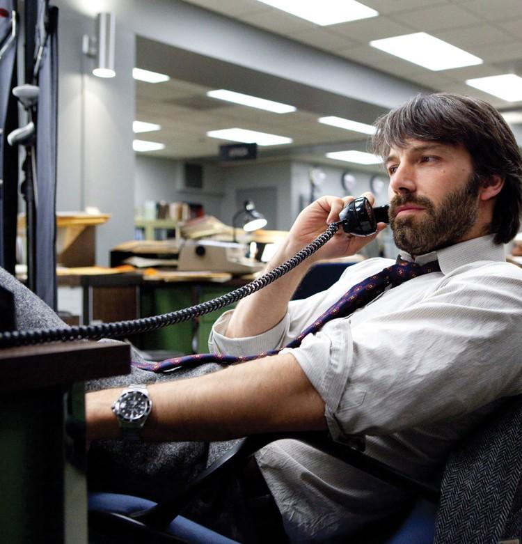 Ben Affleck rocks the hairy '70s look as CIA agent Tony Mendez in Argo.