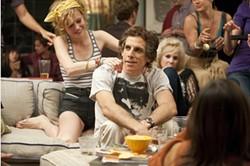 Ben Stiller and Brie Larson in Greenberg