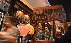 PHOTO BY DREW HYLAND - Best Bar To Take A Date: The Speakeasy.