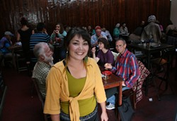 PHOTO BY BOB DORAN - Best Restaurant: Jessica Lovelady welcomes you to 3 Foods Cafe