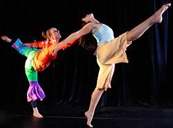 """""""Between Floor and Flight"""" April 10 at the Van Duzer Theater"""