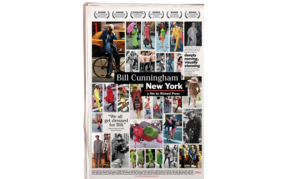 Bill Cunningham New York - DIRECTED BY RICHARD PRESS - ZEITGEIST FILMS