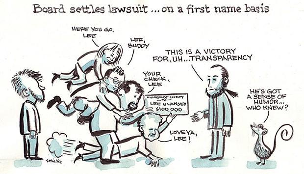 Board Settles Lawsuit