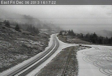 Highway 299 at Berry Summit, at 4:17 p.m. - CALTRANS