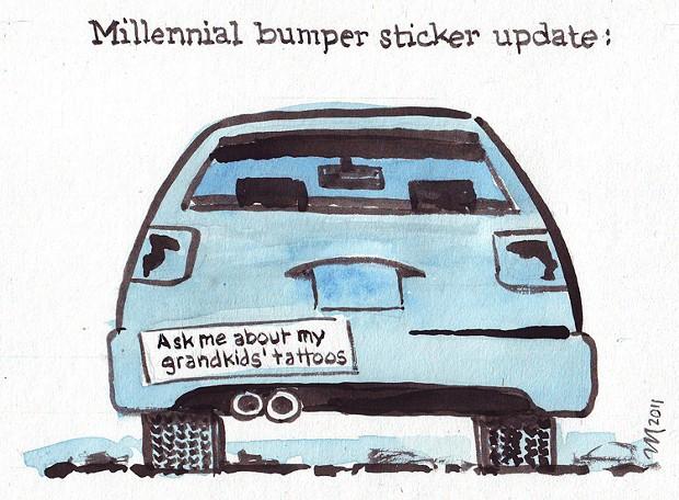 Bumper Sticker Update