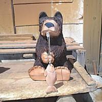Best Of Humboldt -- Staff Picks Burl bear. Photo by Jan Box