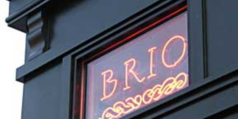Dream cafe Café Brio, opening Saturday, April 14 on the Arcata Plaza. Photo by Bob Doran.