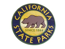 PHOTO BY HEIDI WALTERS - California State Parks logo