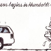 Tourist season begins in Humboldt County...
