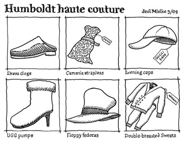 Humboldt haute couture