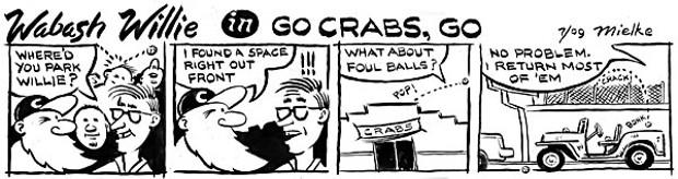 Wabash Willie in Go Crabs, Go