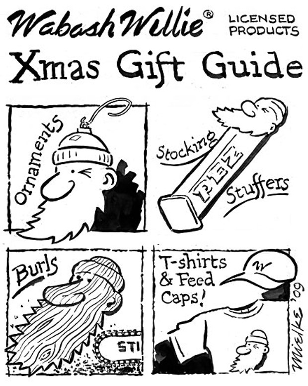 Wabash Willie licensed products Xmas Gift Guide