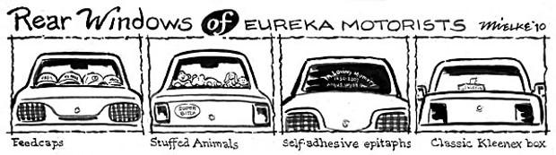 Rear Windows of Eureka Motorists