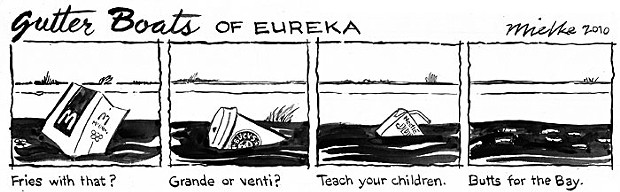 Gutter Boats of Eureka