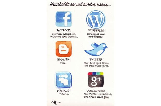Humboldt social media users...