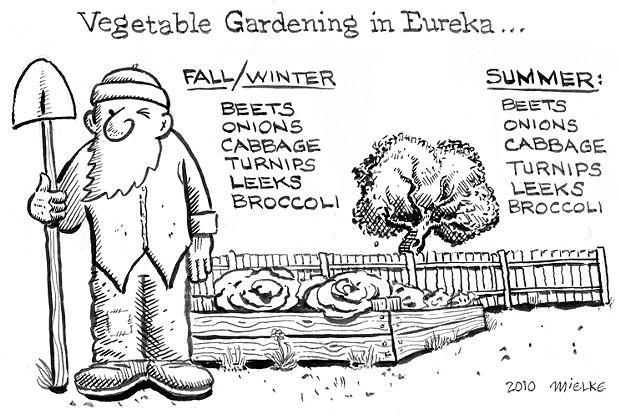 Vegetable Gardening in Eureka...