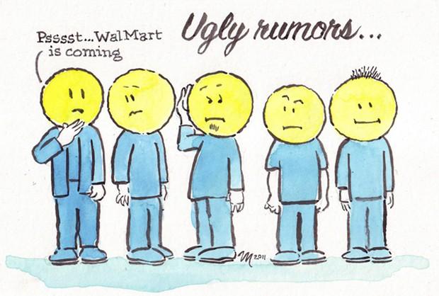 Ugly rumors...
