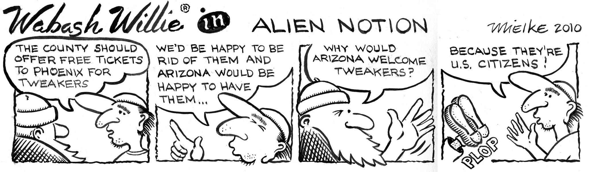 Cartoon by Joel Mielke.