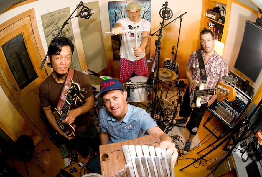 CB 3 (The Chris Berry Trio) with special guest Michael Kang