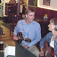 Election Results Clif Clendenen jams with sister-in-law Kathy Clendenen at Eel River Brewing Co. Photo By Heidi Walters