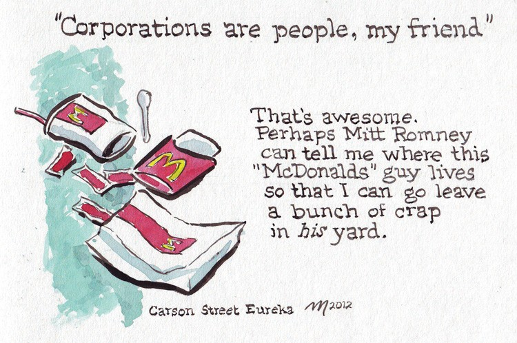 Corporations Are People - JOEL MIELKE