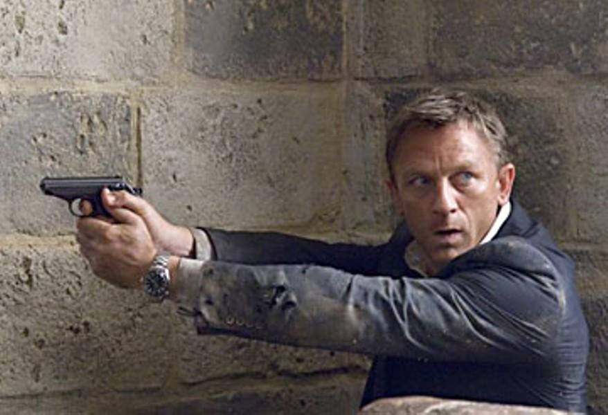 Daniel Craig in 'Quantum of Solace'