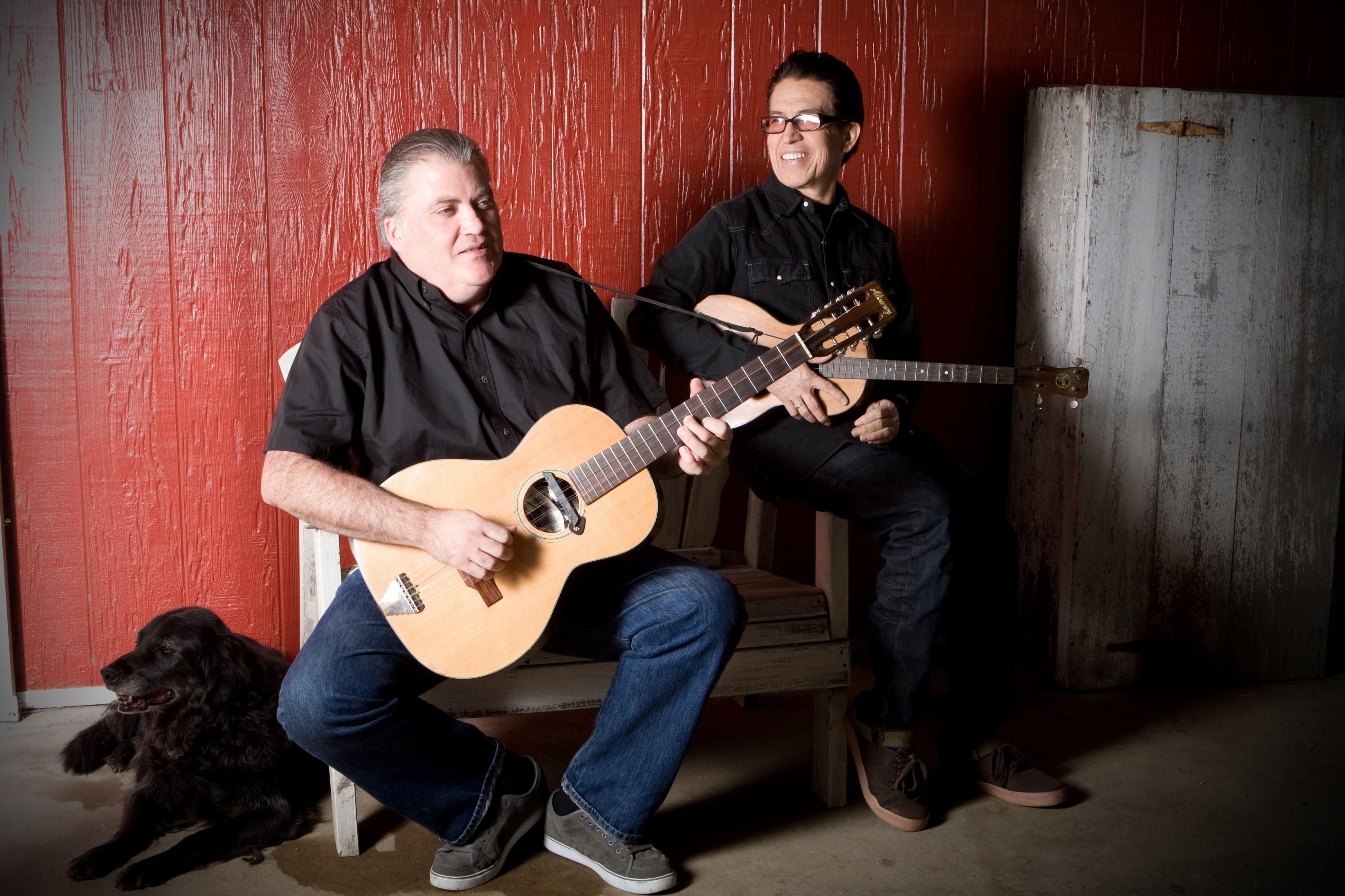 David Hidalgo and Louie Perez - PHOTO BY ANNA WEBBER