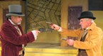 David Simms and Jim Buschmann in <i>The Poor of New York</i> at NCRT.