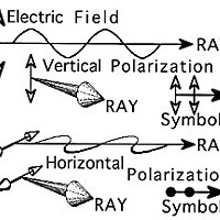 Polarized Diagram A: Electric Field Graph by Don Garlick.